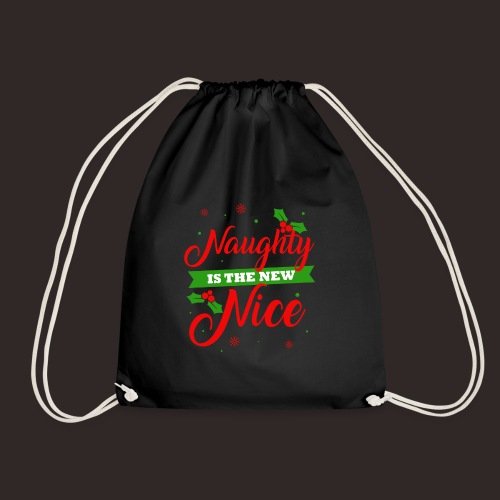 Weihnachten | unartig artig nett - Turnbeutel