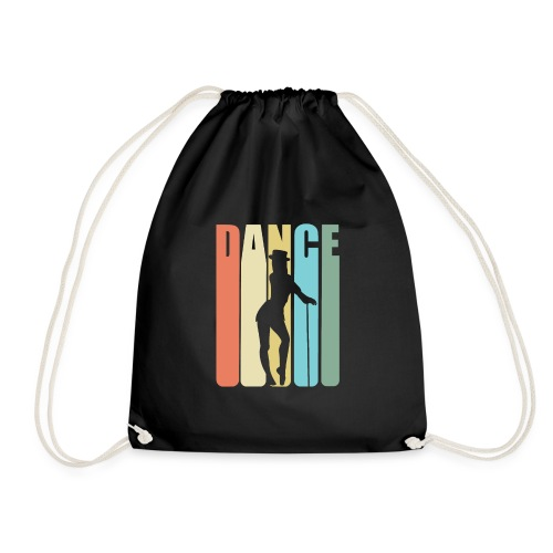 Tap Dancing Retro Design - Dance - Drawstring Bag