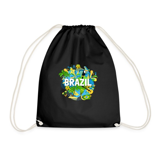 Encontro Brasil - Drawstring Bag