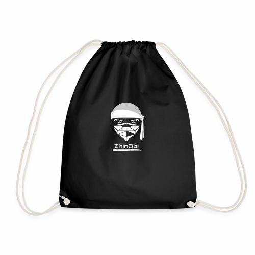 ZhinObi V2 White - Drawstring Bag