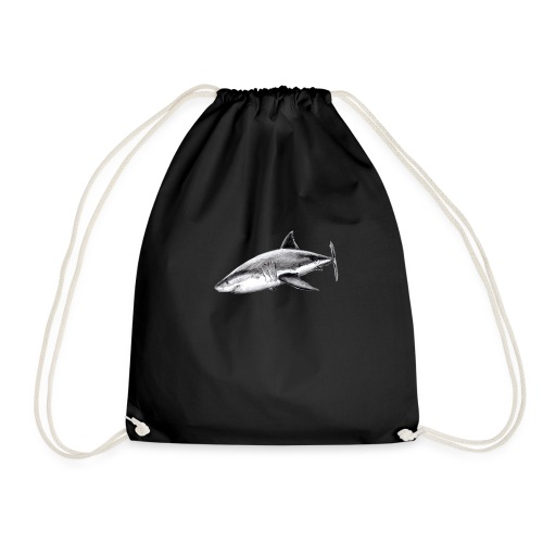 Great white shark - Tiburón blanco - Mochila saco