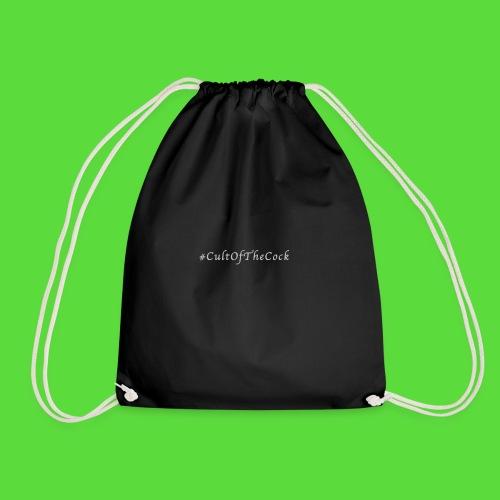 #CultOfTheCock Grey version. Womens Tee - Drawstring Bag