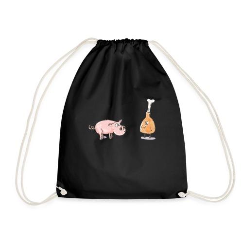 Le cochon et le jambon - Sac de sport léger