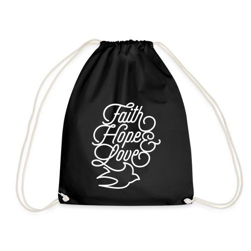 Faith Hope and Love - Turnbeutel