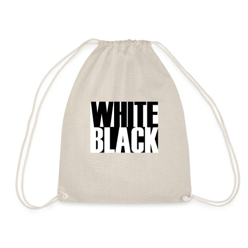 White, Black T-shirt - Gymtas