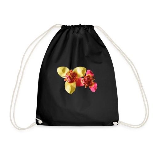 Two Blossoms - Drawstring Bag