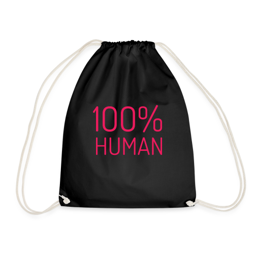 100% Human in roze - Gymtas
