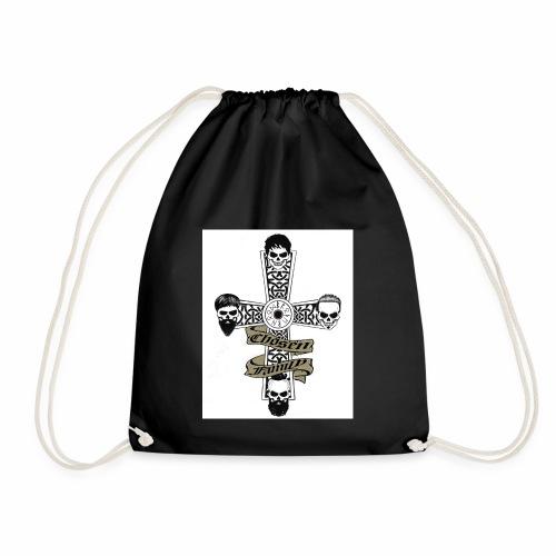 Brotherhood cross - Drawstring Bag