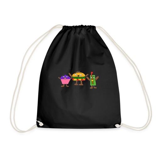 Fast food figures - Drawstring Bag