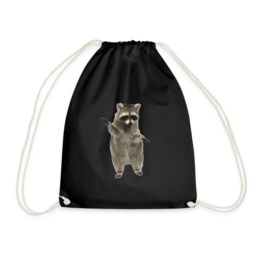 raccoon - Turnbeutel