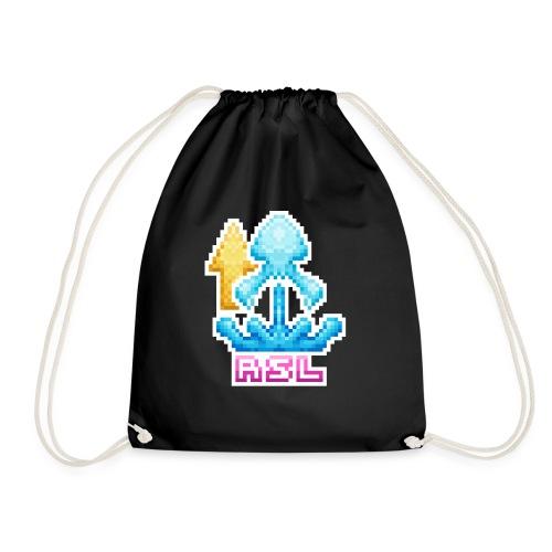 PIXEL SQUID - RSL - Drawstring Bag