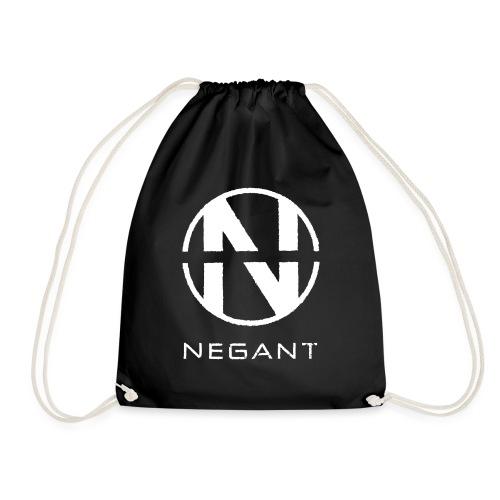 White Negant logo - Sportstaske
