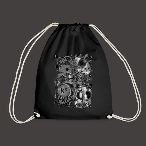 AGAC Picture Noir et Blanc - Sac de sport léger