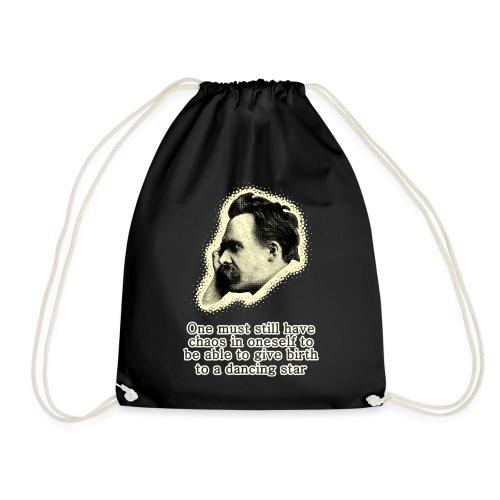 Nietzsche Meme - Drawstring Bag