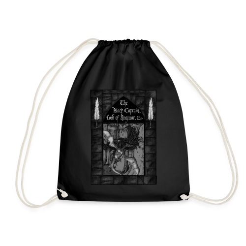 The Black Phantom - Drawstring Bag