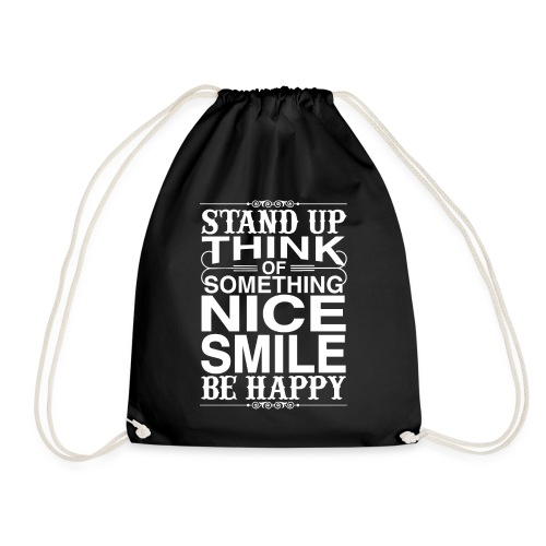 Stand up be Happy - Turnbeutel