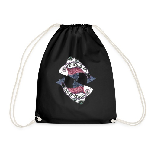 Pisces - Drawstring Bag