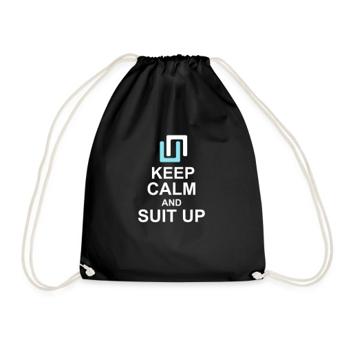 Neon Suit Up - Drawstring Bag