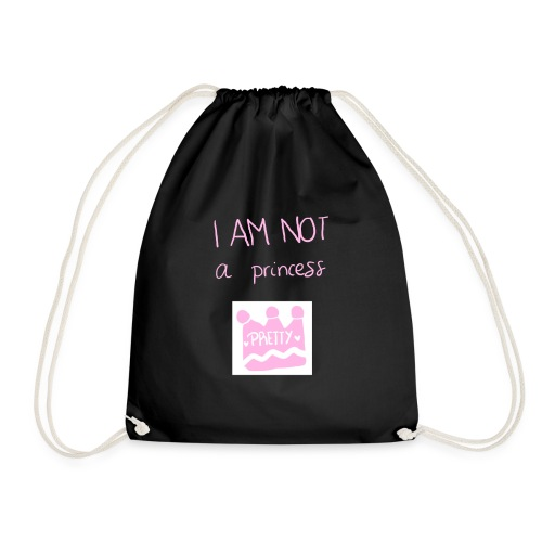 I am not a princess - Mochila saco