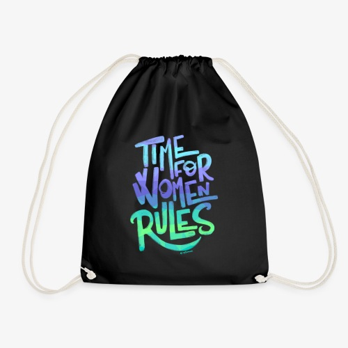 time for women rules - Mochila saco