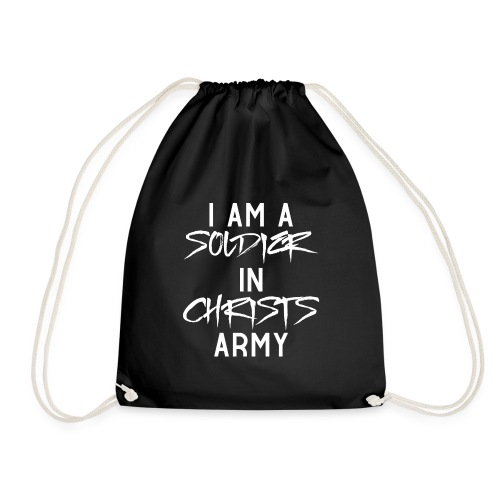 I am a soldier in Jesus Christs army - Turnbeutel