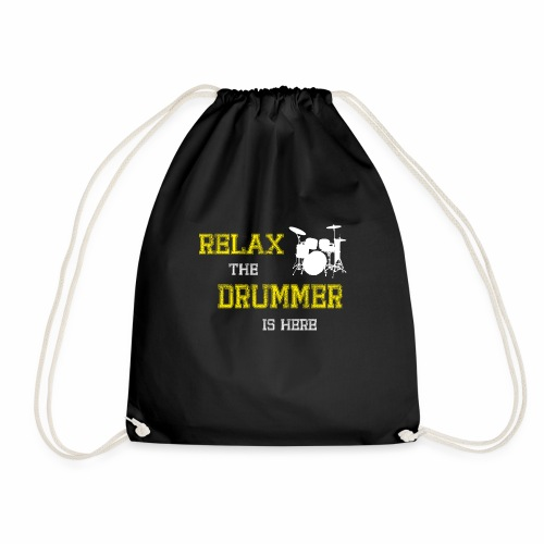 Relax Drummer - Drawstring Bag