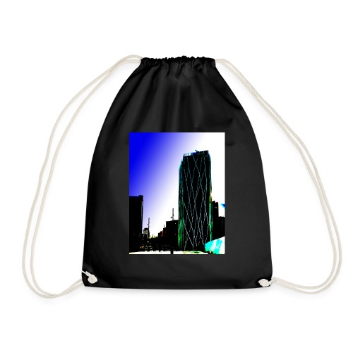Abstract Barcelona mug - Drawstring Bag