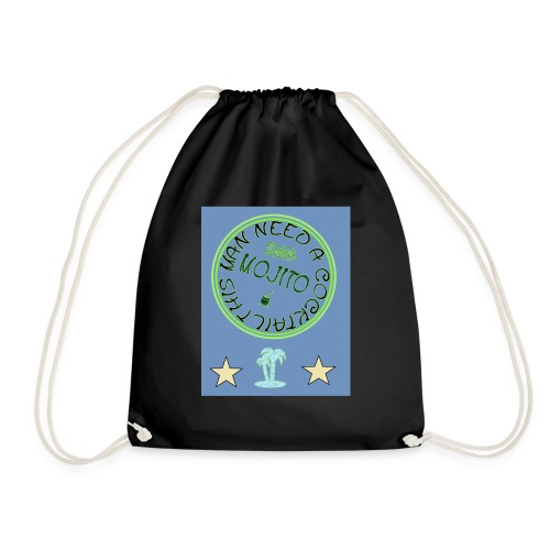 Summer t-shirt - Drawstring Bag