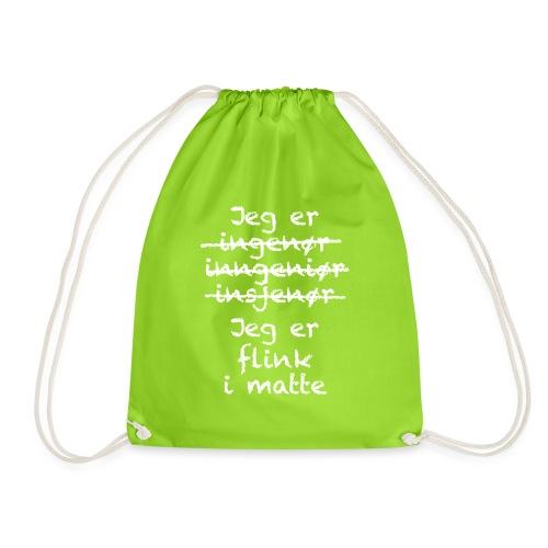 Flink i matte - Gymbag