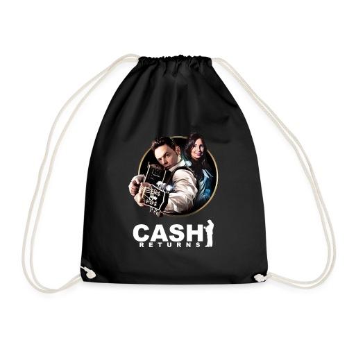 CR Circle Logo Tshirt Design - Drawstring Bag