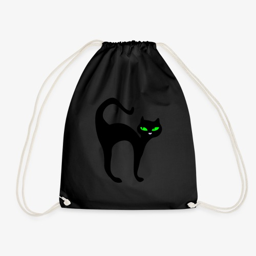 Noughty cat - Drawstring Bag