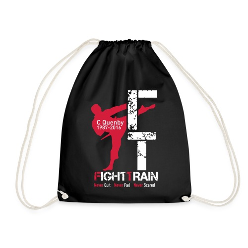Fight Train 'The Collection' Range - Drawstring Bag