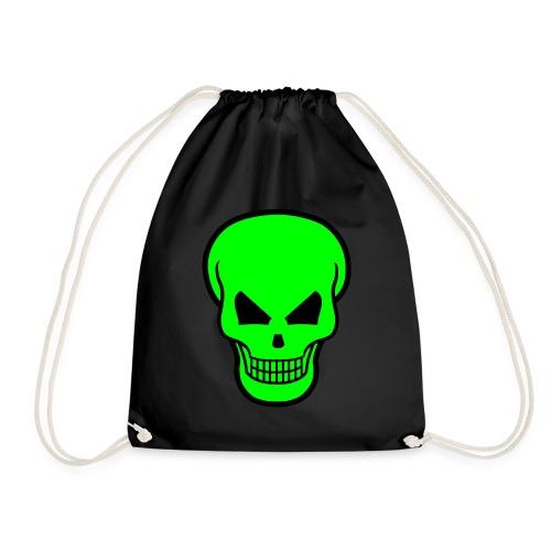 Skull green style - Sacca sportiva
