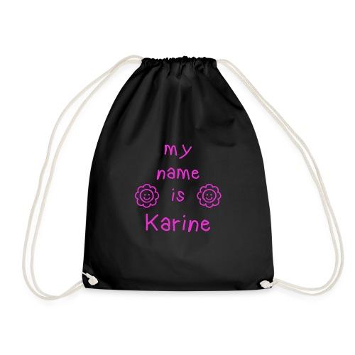 KARINE MY NAME IS - Sac de sport léger