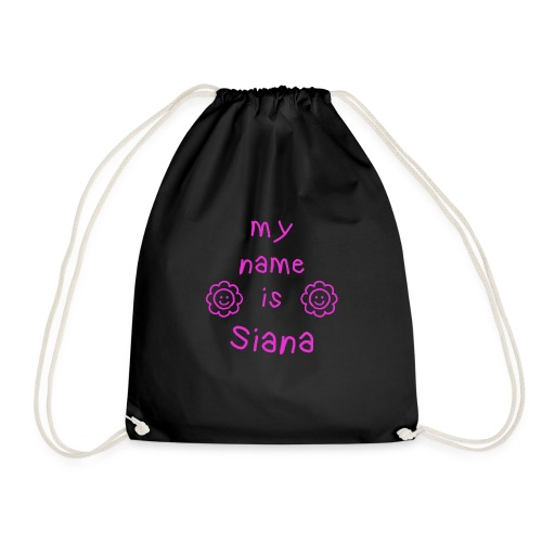 SIANA MY NAME IS - Sac de sport léger