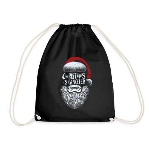 Christmas is canceled (Weihnachten fällt aus) - Turnbeutel