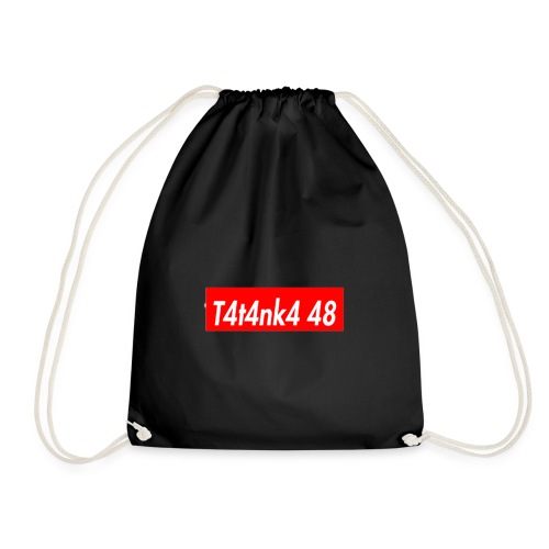 T4T4NK4-RED-LOGO - Sacca sportiva