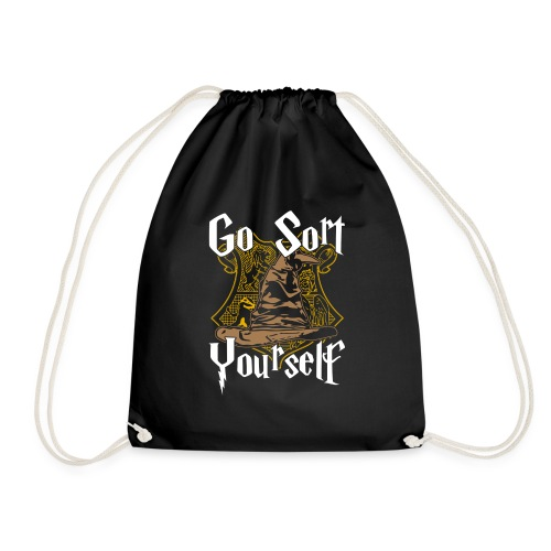 Go Sort Yourself - Drawstring Bag