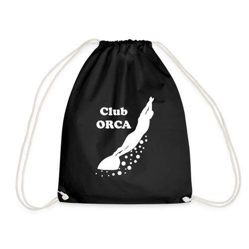 orca_blanc_transparent - Sac de sport léger