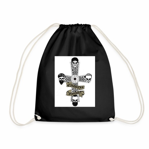 Brotherhood cross - Drawstring Bag