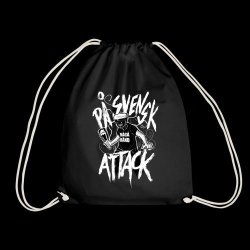 På Svenska Tack - Drawstring Bag