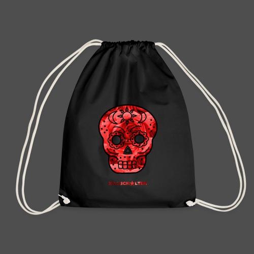 Skull Roses - Drawstring Bag