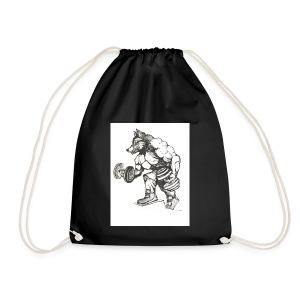 Wolfey Me - Drawstring Bag