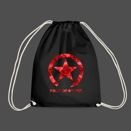 KILLSCHALTER Logo Roses - Drawstring Bag