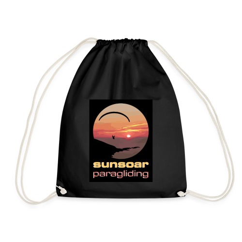 sunsoar paragliding - Drawstring Bag