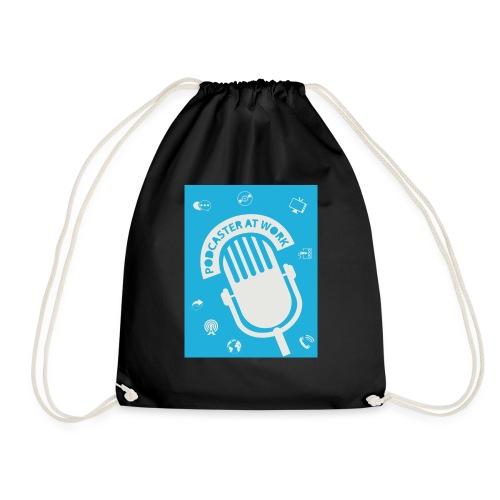 Podcaster at Work - Die Tasse für Podcaster - Turnbeutel