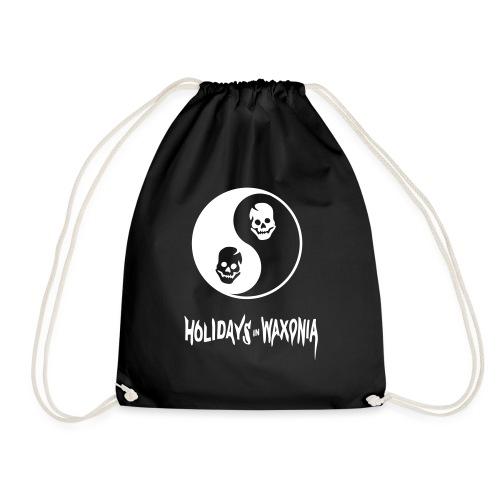 HIW-pantswhite - Drawstring Bag