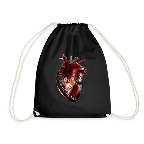 Heart of metal - Sacca sportiva