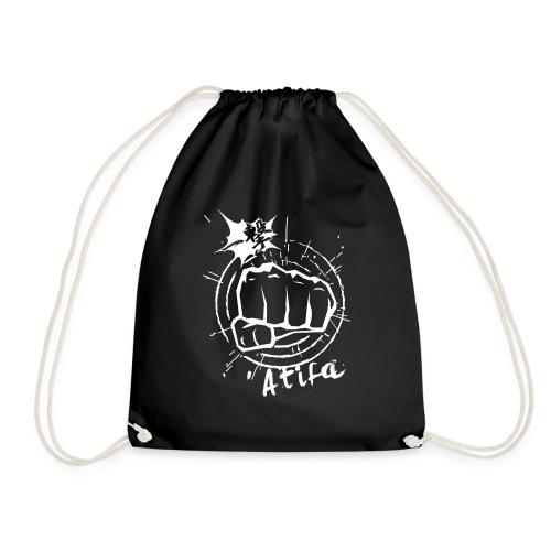 ATIFA - power punch! - Drawstring Bag