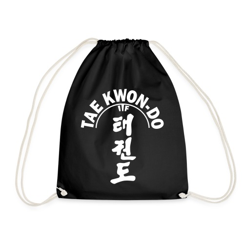 ITF Tae Kwon Do symbols - Drawstring Bag